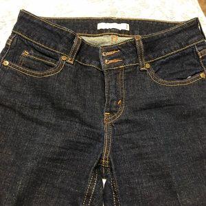 Levi's slim boot cut jeans.